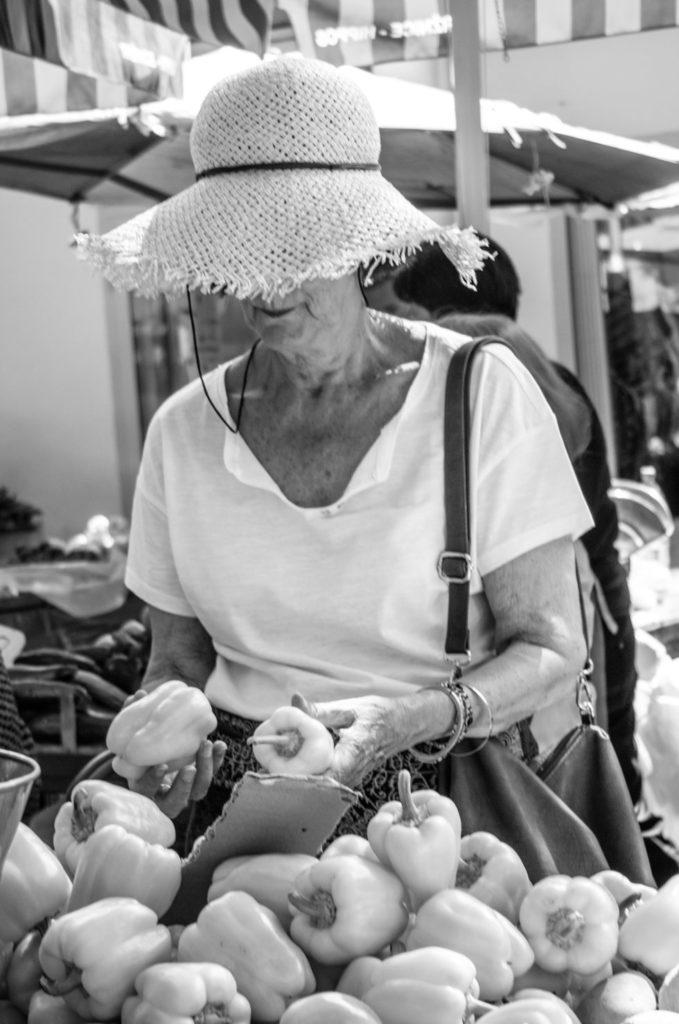 Wochenmarkt Stadt Split