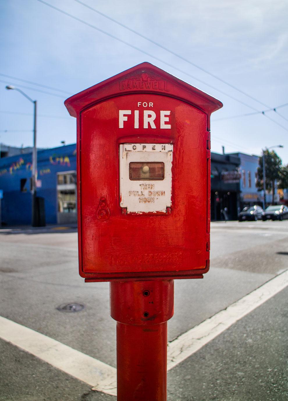 USA Feuermelder