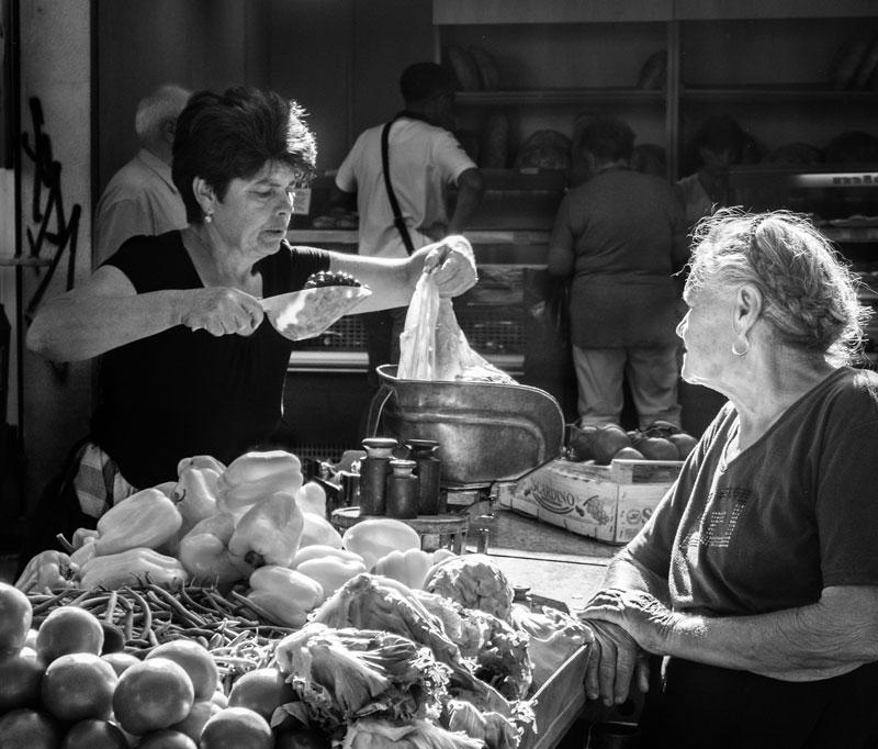 Wochenmarkt Split Kroatien