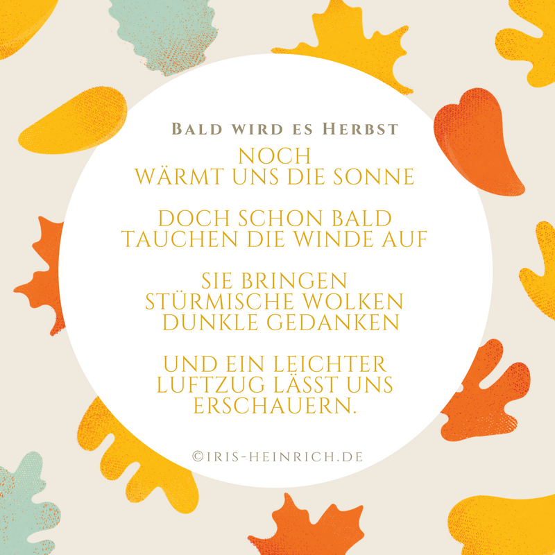 Gedicht über den Herbst