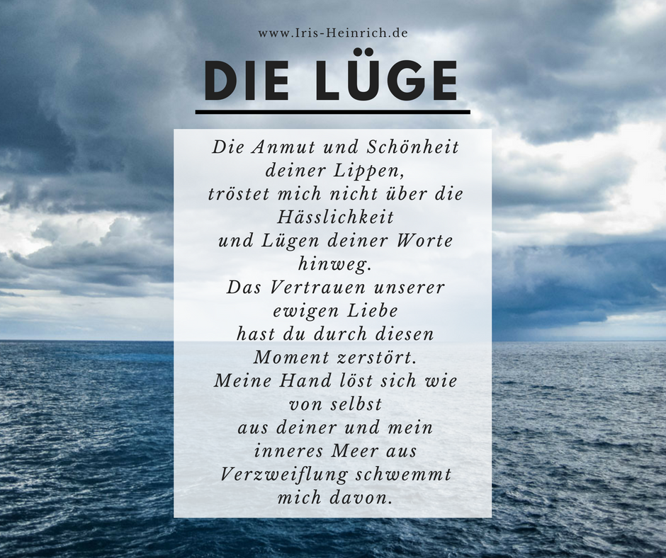 Gedicht Lüge